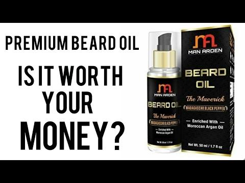 Man Arden - The Maverick Beard Oil Review
