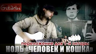 Человек и Кошка - Фингерстайл с Гитарином / Ноль