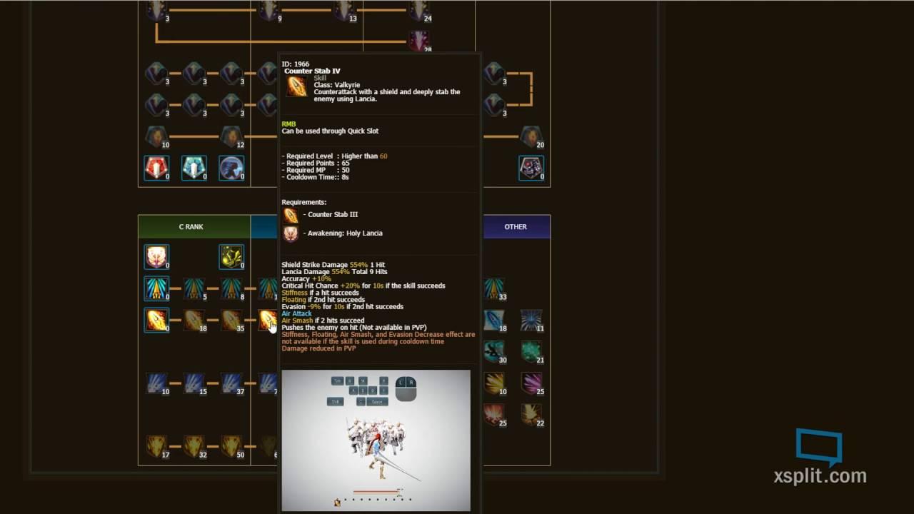 Build Valkyre Black Desert Online