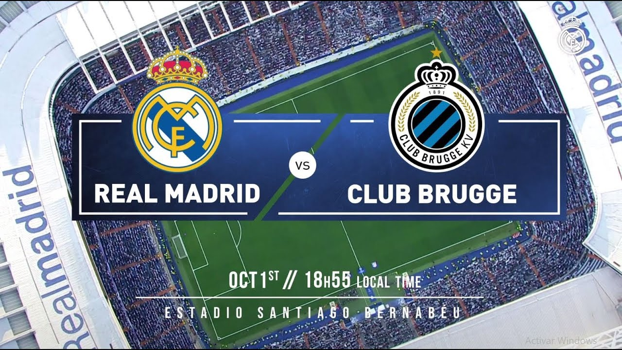 PREVIEW Real Madrid Club Brugge YouTube