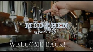 Mudhen Brewing Company: Welcome Back!