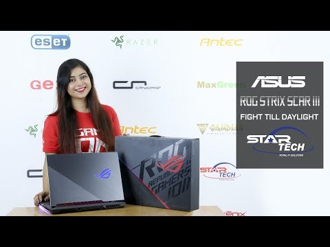 ASUS ROG SCAR III Gaming Laptop Review | Star Tech