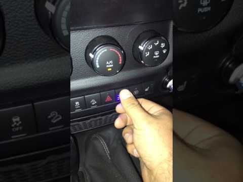 Jeep Wrangler JK Light Switch Mod ARB IPF 900