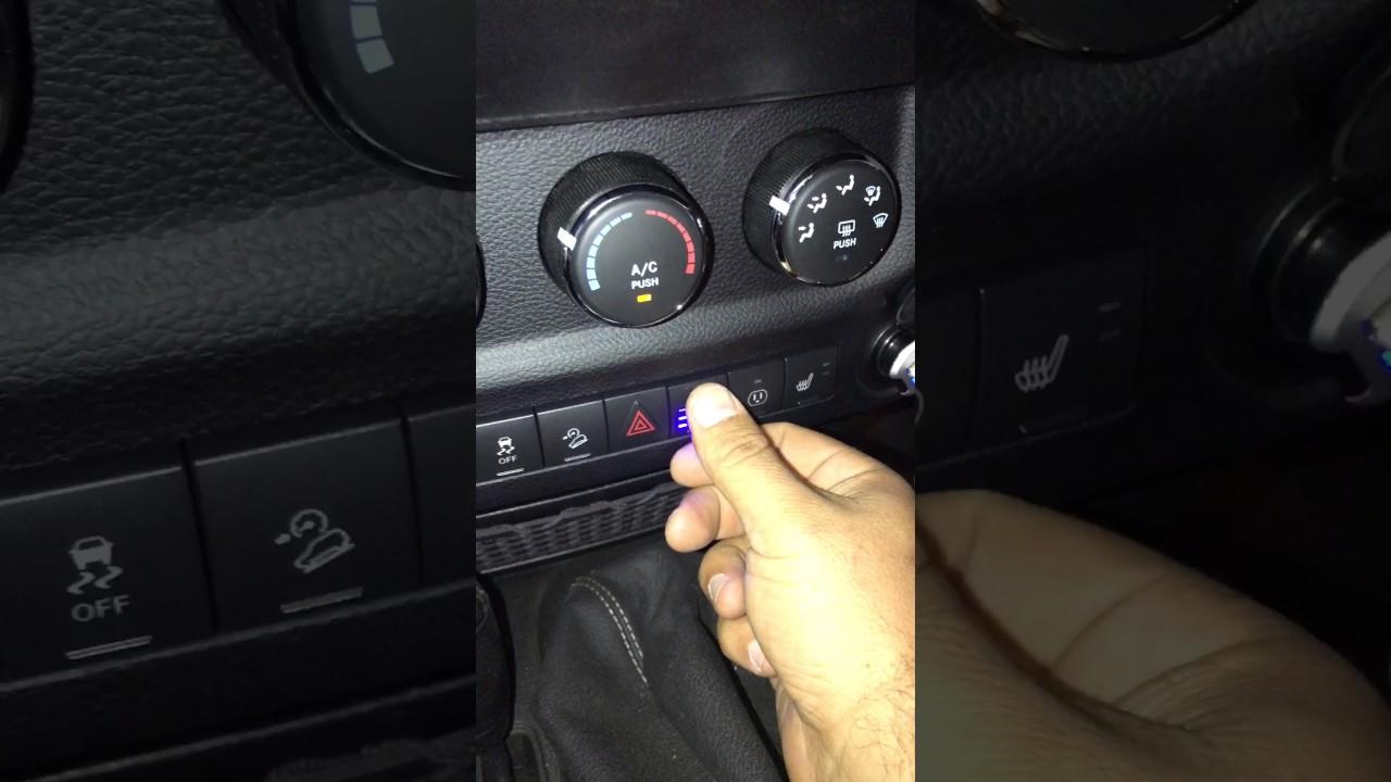 jeep wrangler jk light switch mod arb ipf 900 youtube rh youtube com jeep wrangler dome light switch jeep wrangler light switch replacement