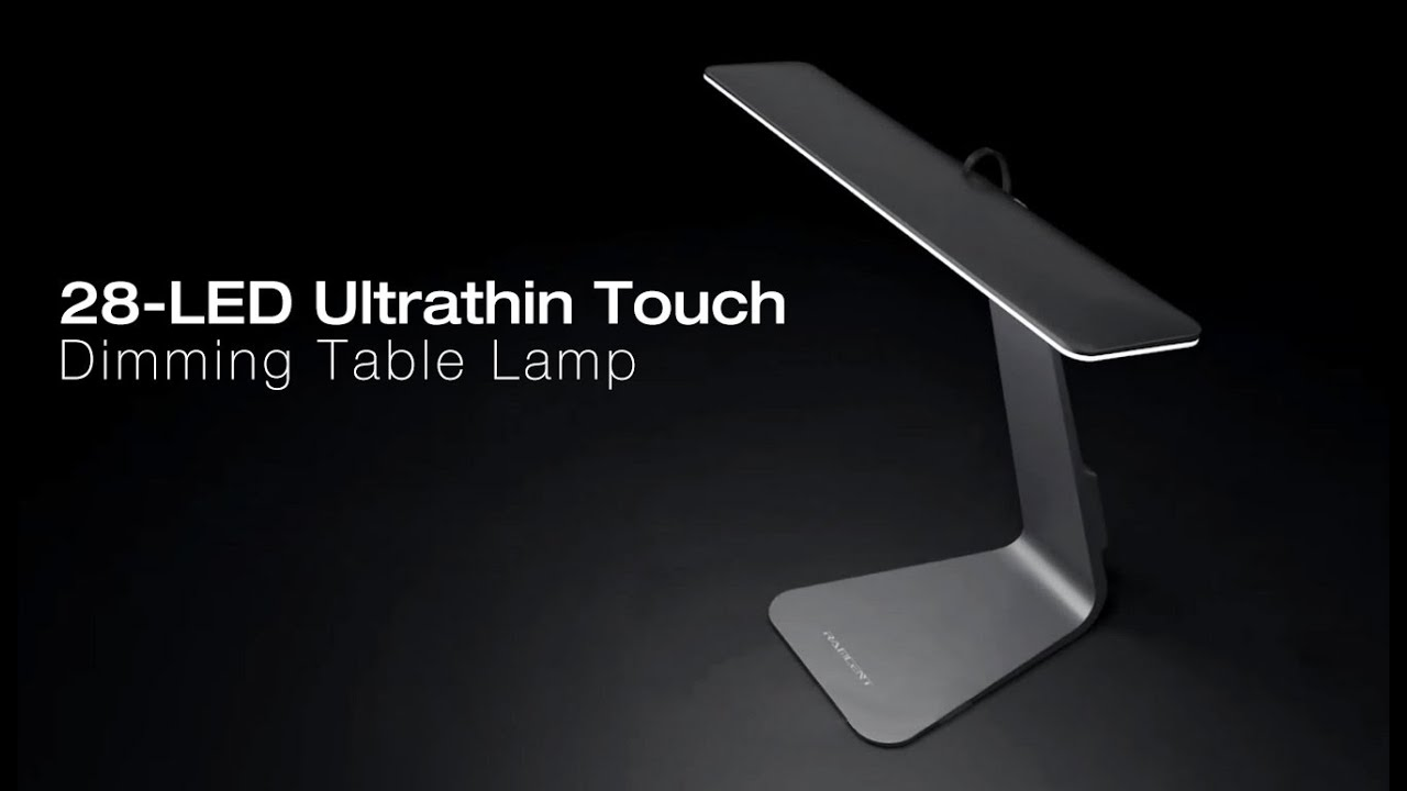 28 led ultrathin touch dimming table lamp youtube 28 led ultrathin touch dimming table lamp aloadofball Choice Image