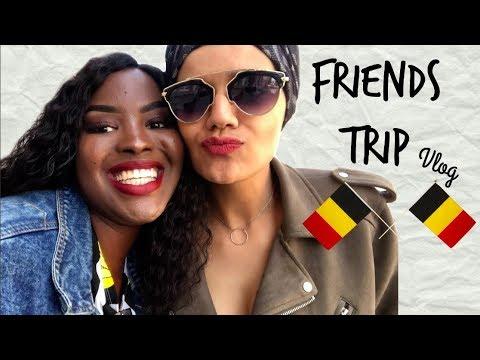 VLOG: FRIENDS TRIP IN BELGIUM♡