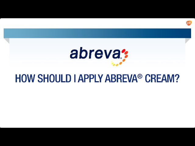 How to Apply Abreva® | Abreva® FAQ