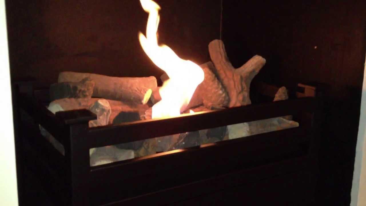 bio ethanol basket by gel fireplaces ltd youtube