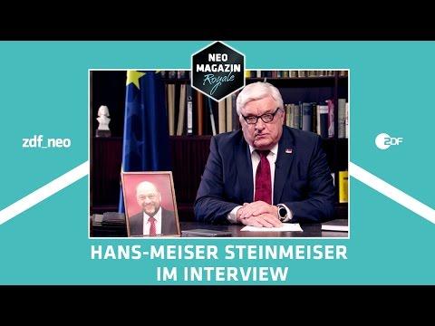 Hans-Meiser Steinmeiser im Interview | NEO MAGAZIN ROYALE mit Jan Böhmermann - ZDFneo
