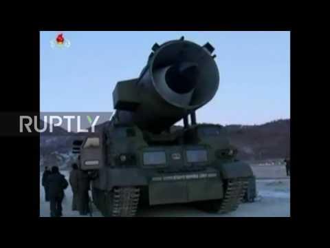 North Korea: Successful launch of new ballistic missile