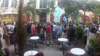 Amazing marriage proposal at The Linq Las Vegas!! Ninja Ed proposes to Crystal