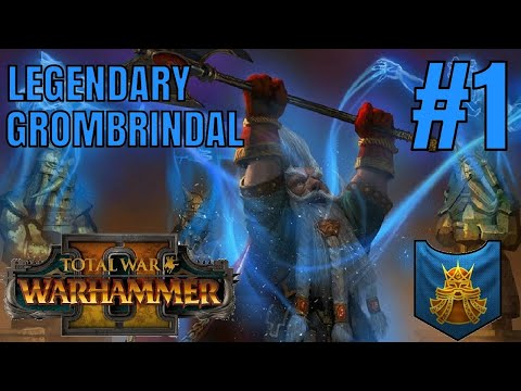 SURVIVING THE NEW WAAAGH! Legendary Grombrindal Campaign Start - Total War: Warhammer 2