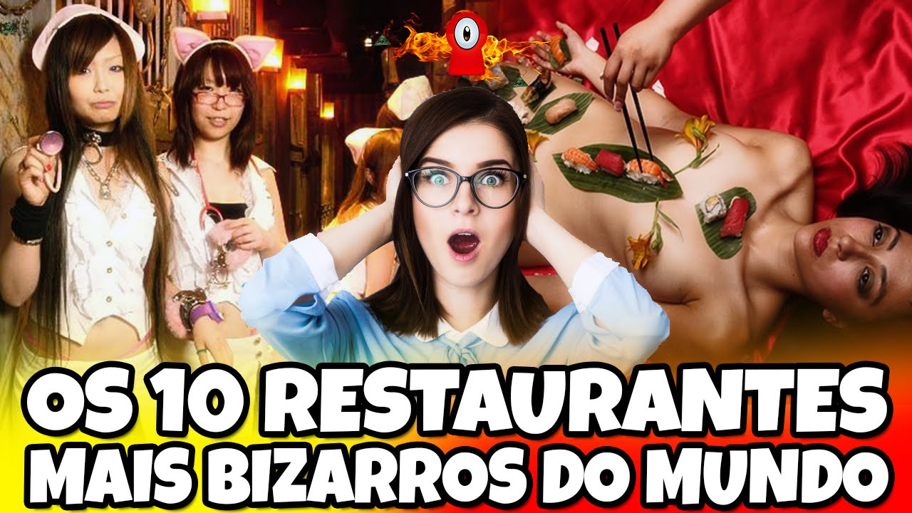 Os 10 restaurantes mais bizarros do mundo