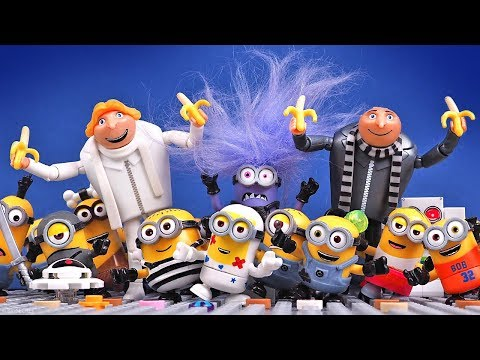 Minions Funny Stories Compilation 2 • Despicable Me Stop Motion