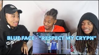 """Blueface """"Respect My Crypn"""" (WSHH Exclusive - Official Music Video)-REACTION"""