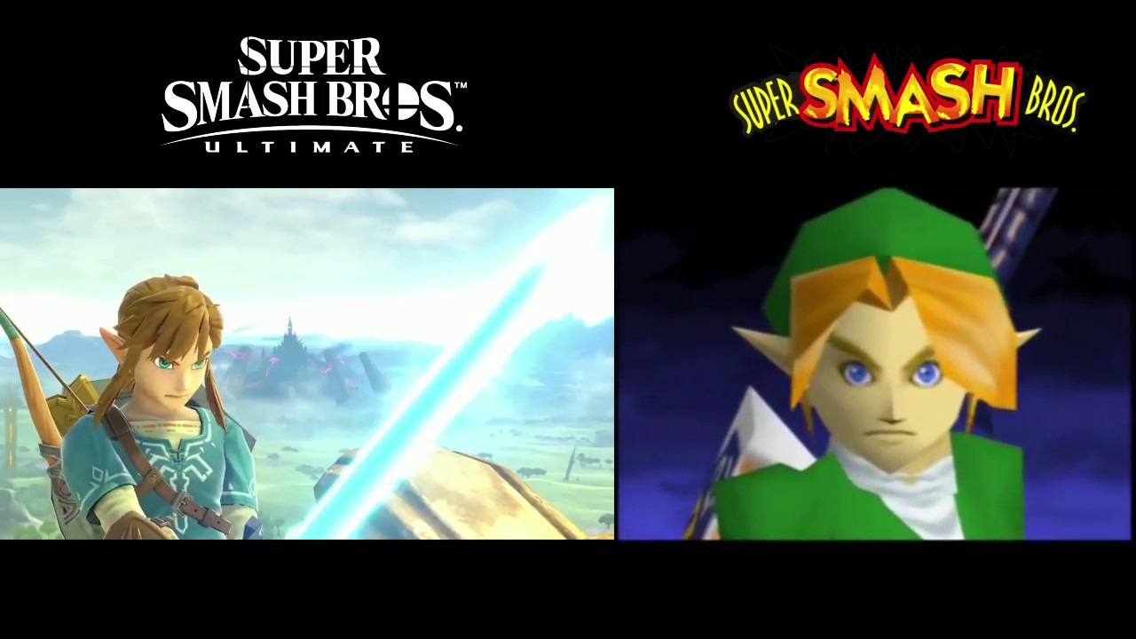 Download Smash Bros Ultimate N64 Style Intro VS. Super Smash Bros 64 Intro