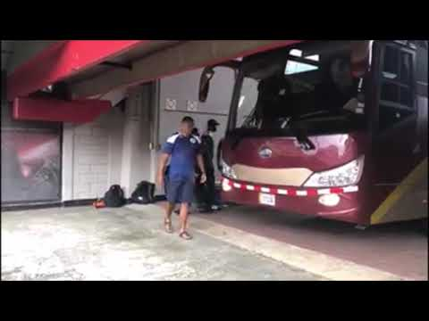 Bermuda's Gold Cup Team Arriving For Training, June 14 2019