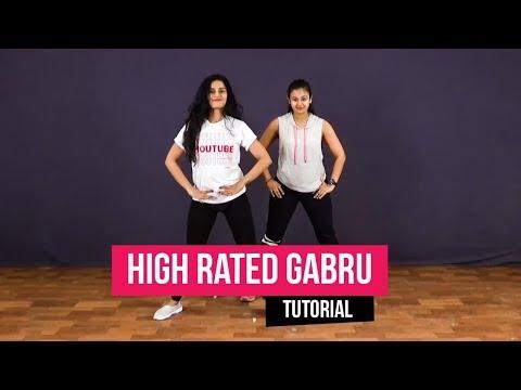 High Rated Gabru I Nawabzaade I Dance Tutorial | Team Naach Choreography