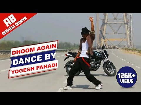 Dhoom Again song dance by yogesh pahadi tribute to the hrithik roshan  online video cutter com   con