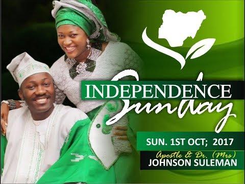 Sun. 1st October 2017 Service  LIVE PT2 (Prophetic)  With  - Apostle Johnson Suleman