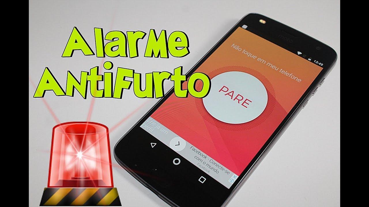alarme antifurto android para