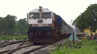 [IRFCA] Goat Luckily escape from monster WDP4 hauling Dekargaon-Bhalukpong Passenger thumbnail