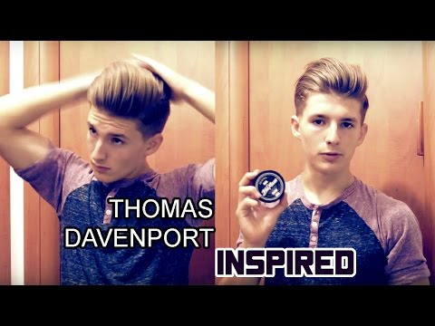 Thomas Davenport inspired | Men's hairstyling tutorial