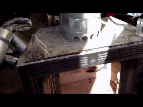 Wood burning fireplace explanation