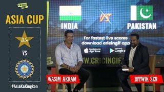Wasim Akram reviews the humiliating loss against India in the Asia Cup 2018
