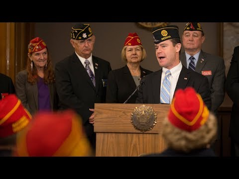 Sen. Young Speaks To The American Legion