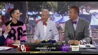 Katy Perry s football predictions on ESPN College Gameday