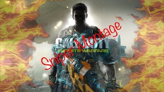 Call of duty infinite warfare sniper montage #1  [Bloo Titan] leader