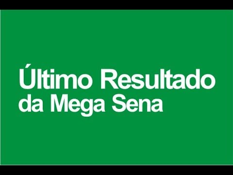 Resultado Mega Sena