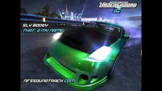 Gambar cover Sly Boogy - That'z My Name (NFS Underground 2)