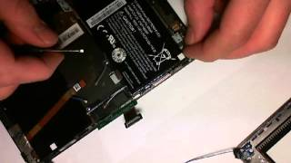 How to remove the Blackberry Playbook Battery