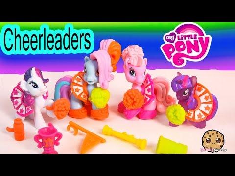 MLP Ponyville Cheerleading Set With Rainbow Dash, Pinkie Pie, Twilight Sparkle My Little Pony Video