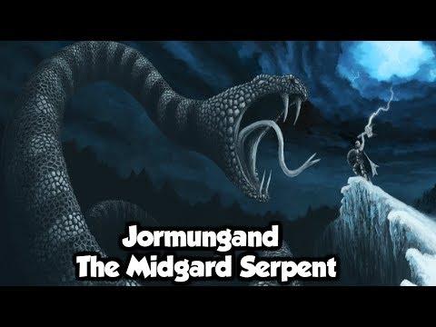 Jormungand The Great Serpent Of Norse Mythology  Norse Mythology Explained