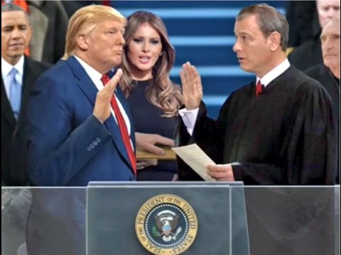 Image result for TRUMP sworn in