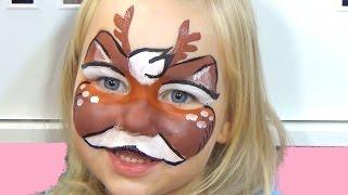 Алиса ОЛЕНЁНОК макияж аквагрим для детей рисуем Немного испортили аквагрим