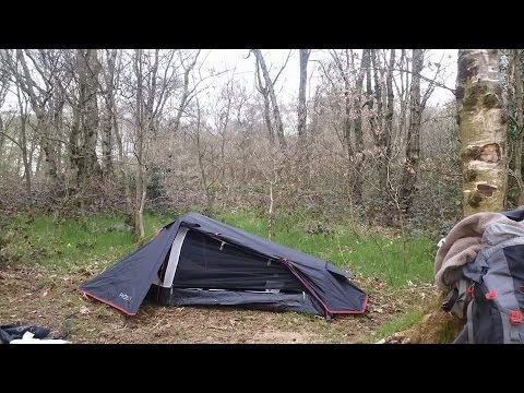 Oex phoxx 1 man backpacking tent VERY LOW PROFILE TENT. & Oex phoxx 1 man backpacking tent VERY LOW PROFILE TENT. - YouTube