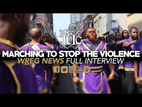 MARCHING TO STOP THE VIOLENCE | WREG NEWS MEMPHIS | FULL INTERVIEW