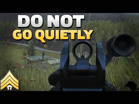 Do not go quietly - Arma 3 Machinegun Defense