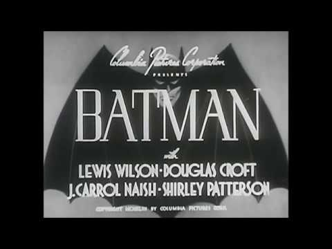 THE BATMAN (1943) - Serial Trailer