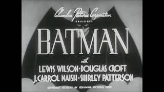 THE BATMAN (1943) - Serial Trailer
