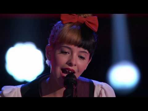 Melanie Martinez's Audition   Toxic    The Voice