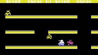 MSX Game: Choro Q (1984 Taito Corporation)