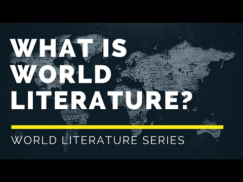 01- What is World Literature [Goethe and David Damrosch]