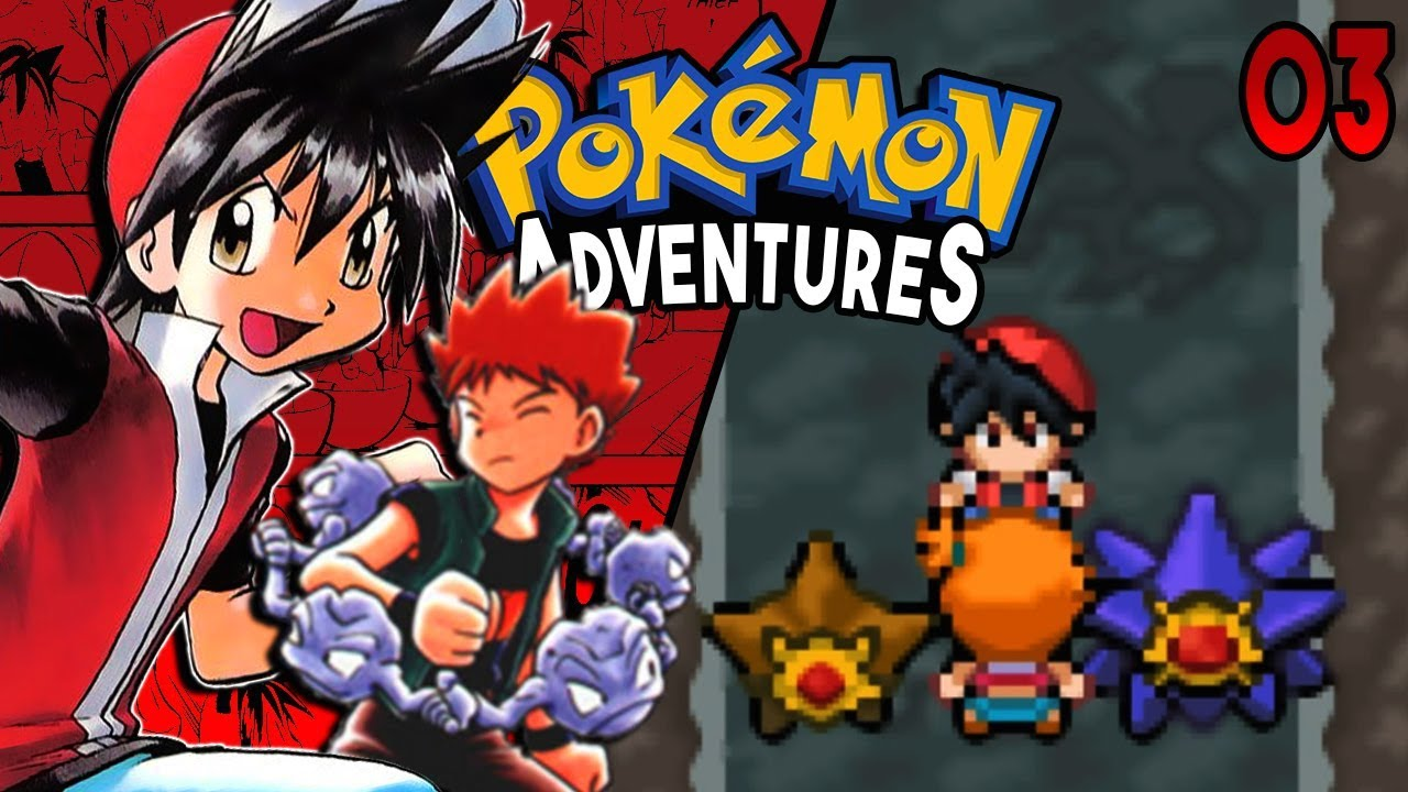 pokemon adventures red chapter part 3 brock misty rom hack gameplay walkthrough youtube