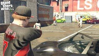 Jimmy De Santa STEALS His Car Back From Simeon in GTA 5!!! (GTA 5 Mods)