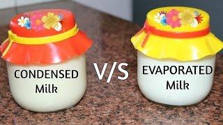 How to make Homemade EVAPORATED Milk & CONDENSED Milk